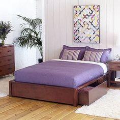 platform bed box spring