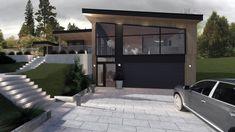 Garage Doors, Villa, Architecture, Outdoor Decor, Home Decor, Design, Modern, Homemade Home Decor, Architecture Illustrations