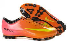 Nike Mercurial 2013 Victory IX 9 AG Total Orange Volt Nike Soccer Shoes 2013