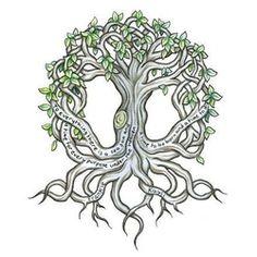 77 Irish tattoos to celebrate your appreciation for Irish and Celtic heritage: shamrock, clover, Irish cross, claddagh tattoo designs and more. Celtic Symbols, Celtic Art, Celtic Knots, Druid Symbols, Magic Symbols, Irish Celtic, Tattoo Life, Roots Tattoo, Celtic Tree Tattoos