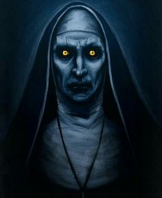 Valak the sinister nun from The Conjuring 2