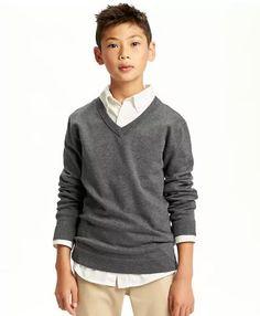 V-Neck Uniform Sweater Old navy guapologia