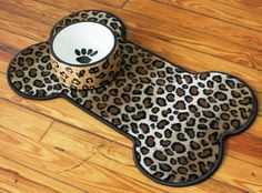 "Bone Pet Placemat (29""x17""): $35.00  #PintoWin @GG Bailey #PinittoWinit"