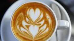 Will Priestley's #coffee latte art at Cafenatics in Little Bourke St.