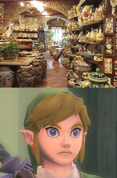 BREAK THEM ALL!!! I laughed WAAAY to much at this... I can't handle Link's face right now!