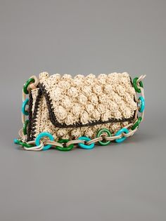 M MISSONI - knitted clutch 9