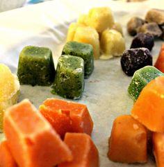 JOSPALANDIA: Vauvan ruoka Baby Food Recipes, Cantaloupe, Fruit, Ethnic Recipes, Bebe, Recipes For Baby Food