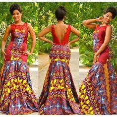 """Résultat de recherche d'images pour """"ankara evening gowns"""""""