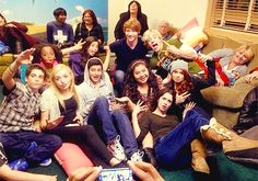 Disney Channel stars hangin' out