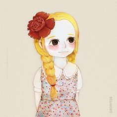 . . . . #illust #illustration #illustrations #character #design #drawing #painting #coloring #sketch #kawaii #일러스트 #일러스트레이션 #그림 #손그림 #좋아요 #일상 #일상스타그램 #드로잉 #취미 #watercolor #수채화 #소녀일러스트 #girl