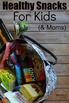 Healthier alternatives to common kid's snacks
