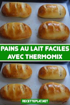Sweet Cooking, Thermomix Desserts, Gula, Bread Rolls, Food Hacks, Appetizers, Food And Drink, Croissant, Breakfast
