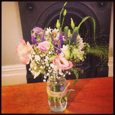 Lovely rustic flowers