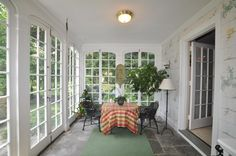 enclosing a porch with doors - Google Search