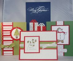 Christmas Card Stamp-a-Stack by amyfitz1 - Splitcoaststampers