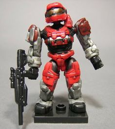 Mega Bloks Halo Wars Series 6 Red UNSC Spartan Grenadier Ultra Rare by Mega Brands. $22.00. Ultra Rare