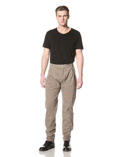 60% OFF Silent by Damir Doma Men\'s Parang Pleated Pants (Washed Sand)