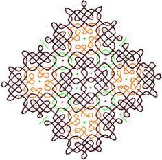 Rangoli Rangoli Designs With Dots, Rangoli Designs Images, Beautiful Rangoli Designs, Indian Rangoli, Kolam Rangoli, Muggulu Design, Floor Art, Diy Crafts Hacks, Simple Rangoli