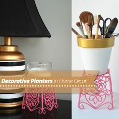 Use Decorative #Planters in your #Apartment #Decor!