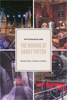 The making of Harry Potter - Harry Potter - The Warner Brothers Studios London