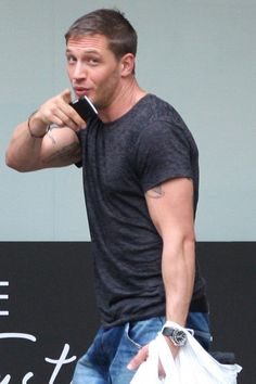Oh no...YOU...Tom Hardy...you