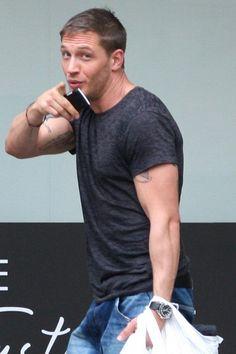 Oh no...YOU...Tom Hardy...you