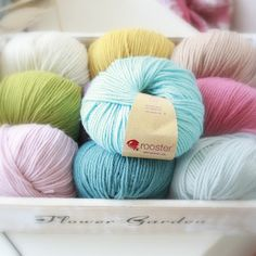 Love Rooster yarn.......