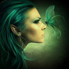 ✿Elf Fantasy World ✿ (Elves) 3d Artwork, Fantasy Artwork, Fantasy Drawings, Magical Creatures, Fantasy Creatures, Character Illustration, Illustration Art, Elfen Fantasy, Elf Art