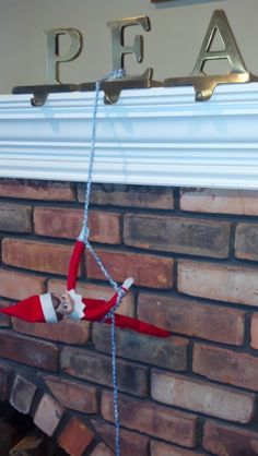 Elf on the Shelf...repelling