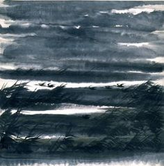 Lin Fengmian (Chinese, 1900-1991). Landscape with Geese, c.1965. The University of Michigan Museum of Art, Michigan. Museum Purchase, 1985. http://www.umma.umich.edu/