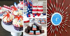 4th of July recipes and DIY crafts