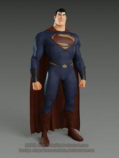 Superman by alejit0 & renecordova
