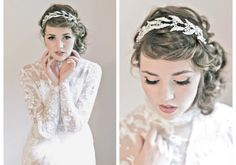Romantic Wedding Hair Accessories by Enchanted Atelier