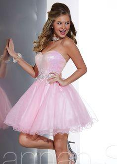 Pink 2014 Hannah S 27882 Prom Dresses