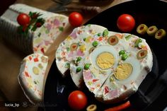 Salata in Mantie de Iaurt Buffet, Pudding, Eggs, Party Recipes, Drinks, Cooking, Breakfast, Desserts, Foods