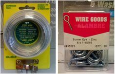 hook eye and wire