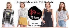 ROMWE Hottest & Biggest flash sale, let us become unique fashionista! Romwe, First Site, Trendy Outfits, Shop Now, Let It Be, Unique, Best Deals, Big, My Style