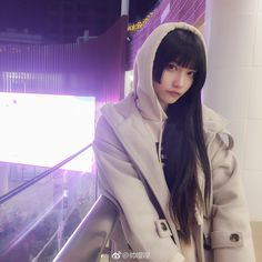 Beautiful Japanese Girl, Beautiful Anime Girl, Beautiful Asian Girls, Japanese Haircut, Japanese Hairstyle, Cute Asian Girls, Cute Girls, Light Bangs, Japan Girl