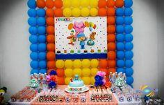 Decoração Pocoyo 3 http://inspiresuafesta.com/festas-dos-leitores-alvaro-pocoyo/