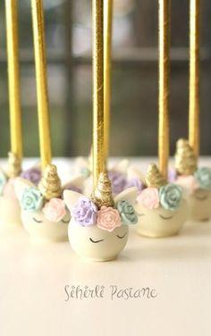 Unicorn Cakepops by Sihirli Pastane