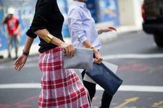 #tartan #skirt #outfit