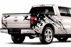 MUD Splash Graphics Vinyl Stickers Decals FOR Truck Pick UP F 150 Tundra RAM | eBay Toyota Hilux, Toyota Tundra, Jeep Pickup, Pickup Trucks, Nissan Trucks, Ford Trucks, Ram Trucks, Mens Jewellery, Truck Decals
