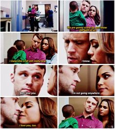 Dawson: We're gonna screw up. You know, the both of us. I mean, this is all still really new. Casey: I know. But I love you. And I'm not going anywhere. Dawson: I love you too. (5x04)