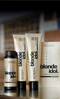 Redken blonde idol haircolor and lightener. Coming Soon! Can't wait to try
