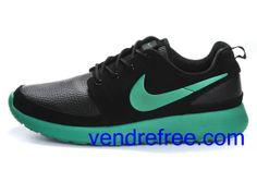 new concept 69ab7 8398e Vendre Pas Cher Chaussures Homme Nike Roshe Run (couleur vamp,interieur-noir