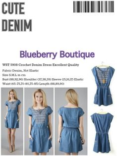 Cute Denim.. Find out at www.blueberry-boutique.com