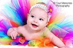 Baby in tutu :)