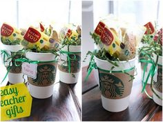 Starbucks Cup Holder | 24 Cute And Clever Ways To Give A Gift Card