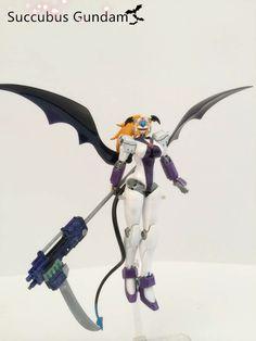 1/144 Nobel Gundam SUCCUBUS GUNDAM Custom: REVIEW   GUNJAP