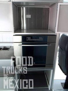 PROYECTO ENTREGADO  Cliente: Talavera Truck  Horno empotrable marca GE Profile. ventas@foodtrucksdemexico.com